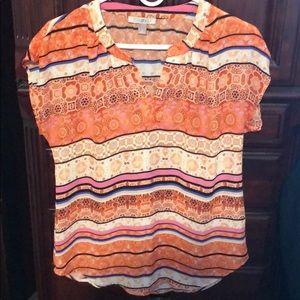 Roz & Ali short sleeve blouse